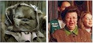 An Ewok and Senator Mikulski
