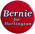 Bernie Sanders for Burlington Mayor