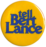 Bert Lance for Governor - 1974