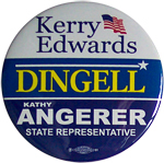 Kerry/Edwards - John Dingell - Kathy Angerer - 2004
