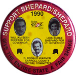 Bill Shepard for Governor - 1990